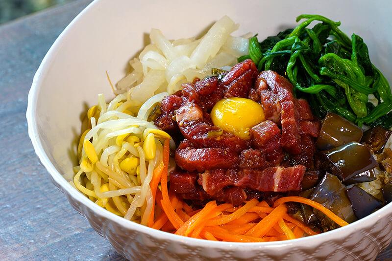 Beef Tartare (Beef Sashimi) Bibimbap