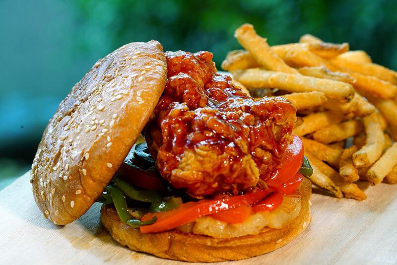 Robson Chicken Burger1