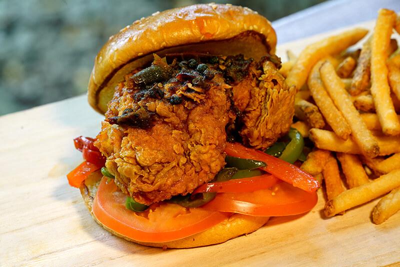 Robson Chicken Burger3