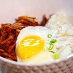 Stir Fried Kimchi and Pork Belly Deopbap, 돼지고기김치덮밥-Kosoo Best Korean Restaurant In Downtown Vancouver