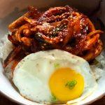 Spicy Stir Fried Squid Deopbap, 매운오징어덮밥-Kosoo Best Korean Restaurant In Downtown Vancouver