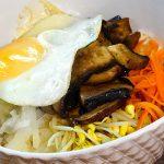 Portobello Mushroom Bibimbap, 버섯비빔밥-Kosoo Best Korean Restaurant In Downtown Vancouver