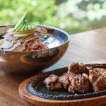 Pork- Bibim Naengmyeon set, 돼지갈비 비빔냉면 세트-Kosoo Best Korean Restaurant In Downtown Vancouver