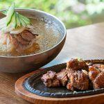 Pork- Mul Naengmyeon set, 돼지갈비 물냉면 세트-Kosoo Best Korean Restaurant In Downtown Vancouver