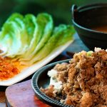 Beef Brisket BBQ set, 소가슴살 비비큐 세트-Kosoo Best Korean Restaurant In Downtown Vancouver