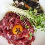 Beef Tartare, 육회-Kosoo Best Korean Restaurant In Downtown Vancouver
